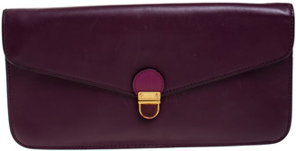 Marc by Marc Jacobs Purple/Magenta Leather Clutch