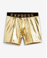 Express metallic boxer briefs