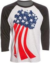 USA Swimming Unisex Team Pride Raglan TShirt - 8147088