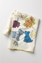 Dog Walking Dishtowel, Scotties