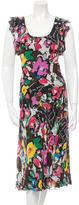 Sonia Rykiel Printed Midi Dress