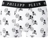 Philipp Plein skull print boxers - men - Cotton/Spandex/Elastane/Modal - S