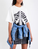 Jeremy Scott Open Ribs cotton-jersey T-shirt