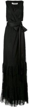 Diane von Furstenberg Rumi wrap gown