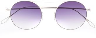 Haffmans & Neumeister Gradient Tinted Round Sunglasses