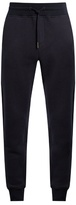 Moncler Logo-appliqué slim-leg cotton-blend track pants