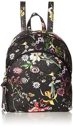 T-Shirt & Jeans Womens Charlotte Double Zip Back Pack in Floral