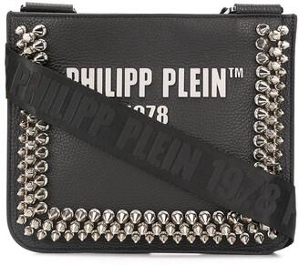 Philipp Plein Studded Logo Crossbody Bag