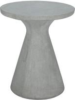 MILTON Round concrete garden table D60cm