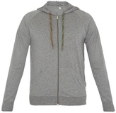 Paul Smith Zip-through hooded cotton sweatshirt