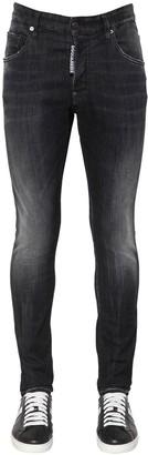 DSQUARED2 14cm Super Twinky Cotton Denim Jeans