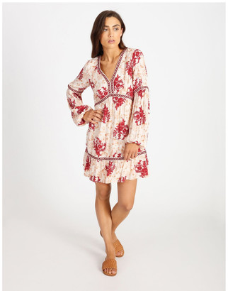 Miss Shop Relaxed Dress With Trim Detail