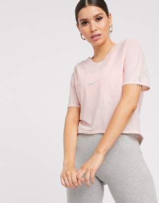 Nike Running Air Running t-shirt in pink