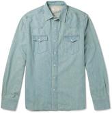 MAISON KITSUNÉ Slim-Fit Denim Shirt