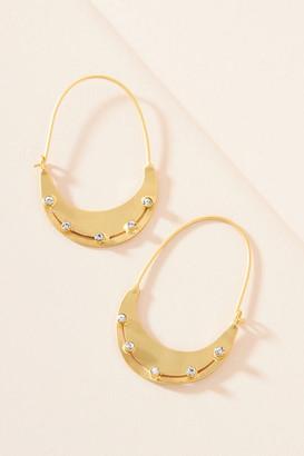 Anthropologie Dorothy Hoop Earrings By in Gold