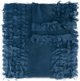 Armani Collezioni pleated scarf - women - Polyester - One Size