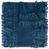 Armani Collezioni pleated scarf
