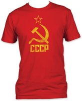 Impact Originals Hammer & Sickle Soviet Union Adult Fitted Jersey T-Shirt Tee