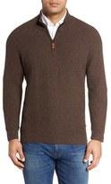 Tommy Bahama Island Tweed Half Zip Pullover (Big & Tall)