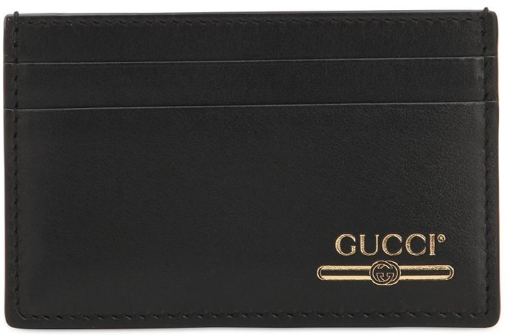 9d976024a4ee Gucci Men Card Holder Wallet - ShopStyle
