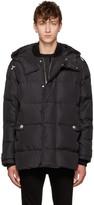 Versus Black Down Puffer Jacket