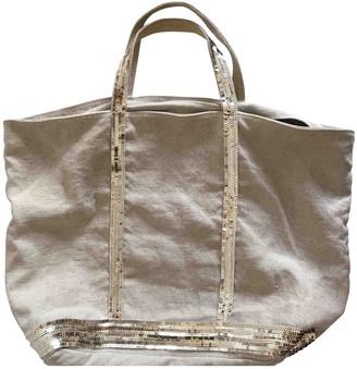 Vanessa Bruno Cabas Ecru Linen Travel bags