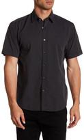 James Campbell Grommet Swiss Dot Regular Fit Shirt