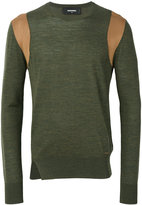 DSQUARED2 crew neck sweater - men - Viscose/Wool - S