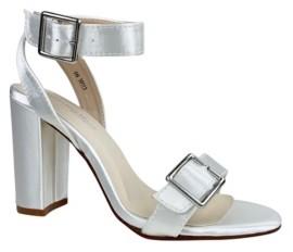 Dyeables Calista Block Heel Sandal Women's Shoes