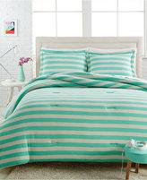 Victoria Classics Closeout! Ella 2-Pc. Twin Jersey Comforter Set Bedding