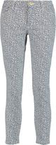 MICHAEL Michael Kors Izzy printed low-rise skinny jeans