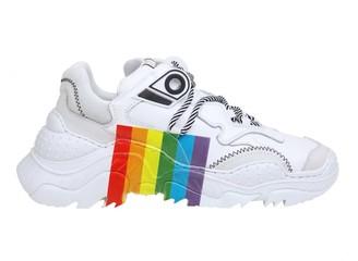 N°21 N 21 Sneakers In White Fabric
