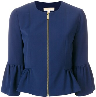 MICHAEL Michael Kors Flared Cuff Jacket