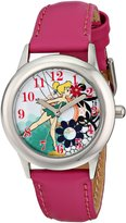 Disney Kids' W001602 Tinker Bell Stainless Steel Watch