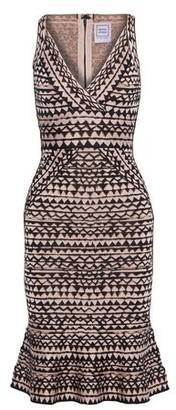 Herve Leger Knee-length dress