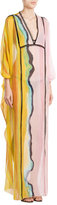 Emilio Pucci Embroidered Silk Tunic