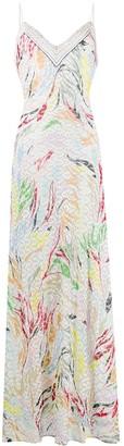 Missoni Patterned Slip Dress
