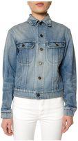 Saint Laurent Studded Denim Jacket