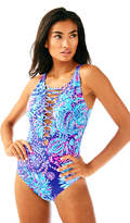 Lilly Pulitzer Isle Lattice One Piece Suit