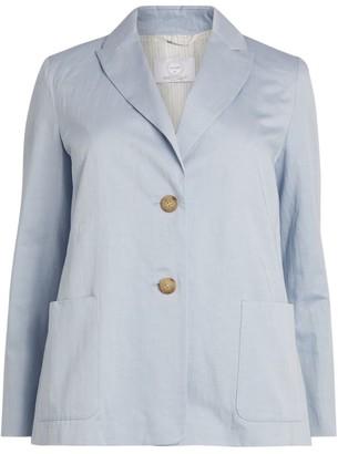Marina Rinaldi Cotton-Blend Blazer