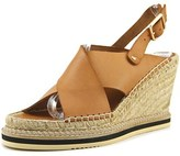 Andre Assous Emily Open Toe Leather Wedge Sandal.