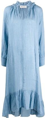 Masscob Crinkled Kaftan Dress