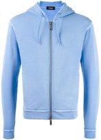 DSQUARED2 rear logo hoodie - men - Cotton - M