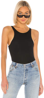 ATM Anthony Thomas Melillo Micro Modal Racertank Bodysuit