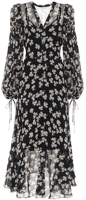 Loewe Printed silk dress