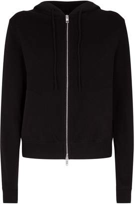 Theory Cashmere Zip-Up Hoodie