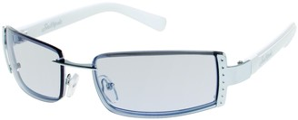 Southpole Women's 440SP Rectangular Sunglasses with 100% UV Protection 60 mm