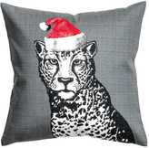 H&M Christmas Motif Cushion Cover - Gray/leopard print