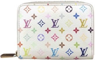 Louis Vuitton Zippy Multicolour Cloth Purses, wallets & cases