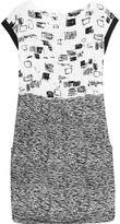 Raoul Isa printed silk crepe de chine mini dress